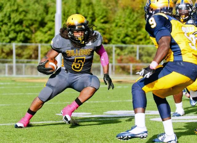 Bowie State Bulldogs earns first win this year ov...