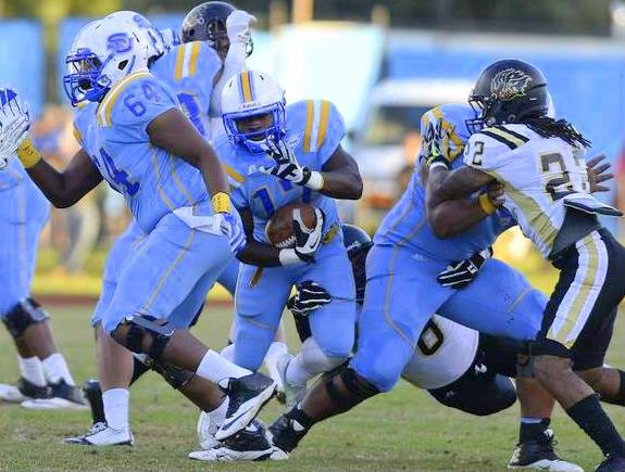 Southern wins big for homecoming over Arkansas-Pi...