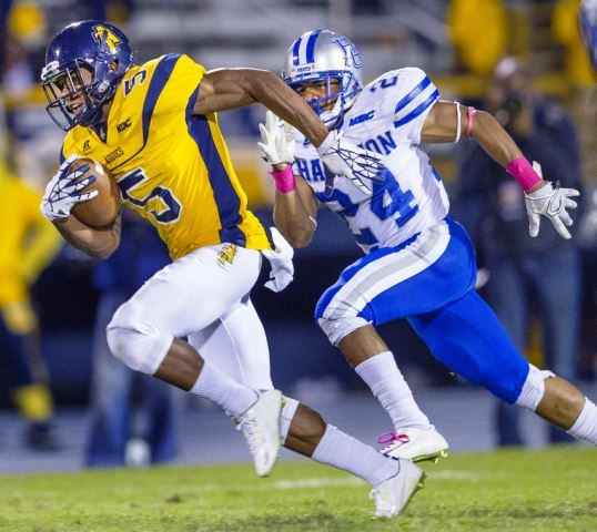 North Carolina A&T Aggies turn up in the second h...