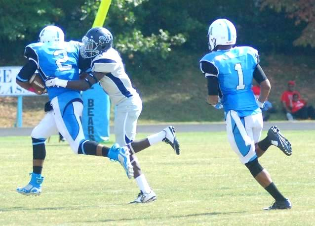 Saint Augustine's Falcons take down the Blue...