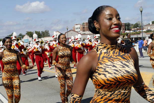 Tuskegee Crimson Piperettes Dance Team