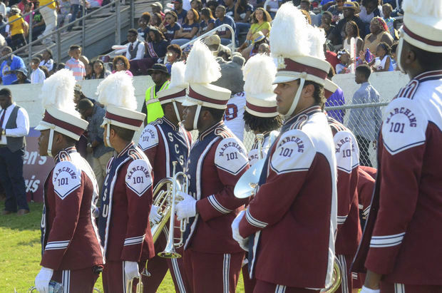 South Carolina State marching 101 are ready to ta...