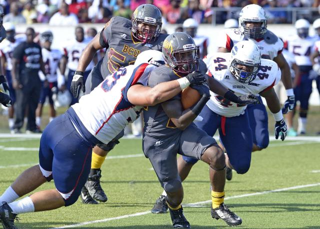 Bethune-Cookman Wildcats take down Howard Bison w...