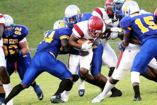 Albany State Golden Rams pound Lane Dragons