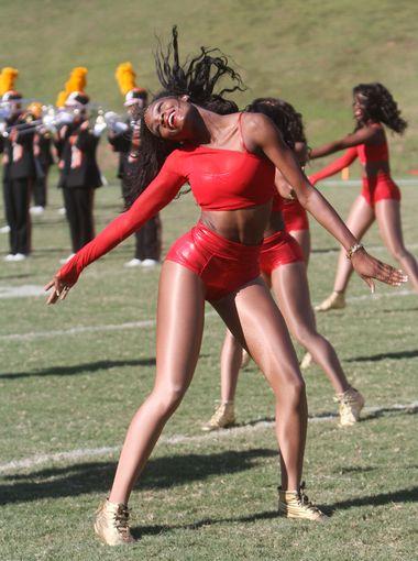 Grambling State dancers at halftime