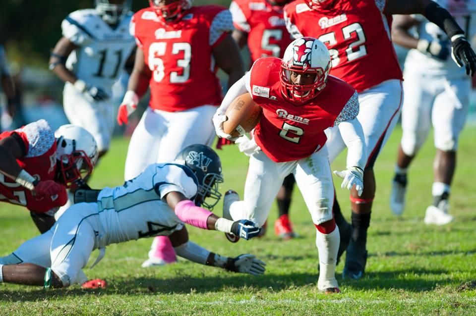 Winston-Salem State Rams run over Saint Augustine...