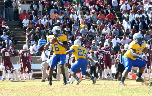 Albany State Golden Rams spoils Moreshouse Maroon...