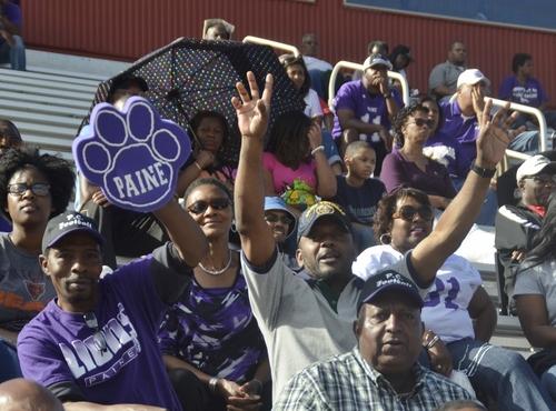 Paine Lion fans enjoying homecoming 2014