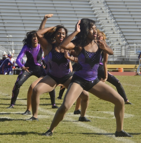 Paine College dancers perform at halftime