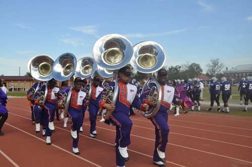 Edward Waters marching band