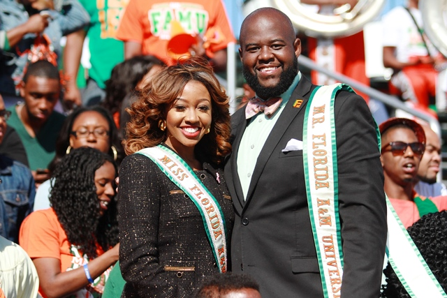 Miss and Mr Florida A&M University 2014-2015 enjo...