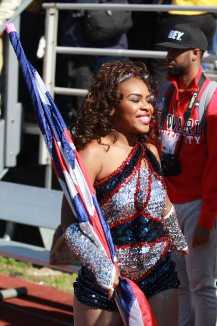 Howard University flag squad