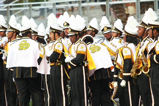 Bowie State marching band is ready to take the fi...