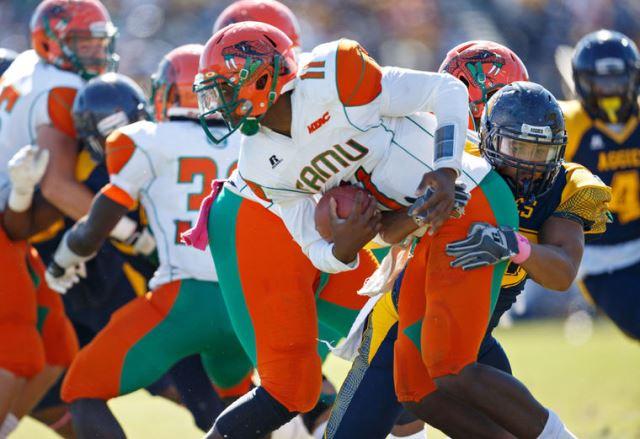 North Carolina A&T Aggies top Florida A&M Ratters...