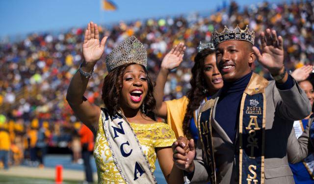 Miss and Mr North Carolina A&T State University 2...