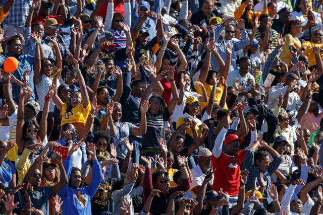 North Carolina A&T Aggie fans at homecoming