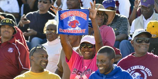South Carolina State Bulldog fans