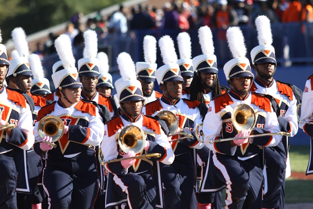 Virginia State Trojan Explosion marching band