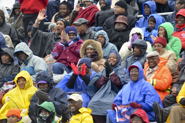 South Carolina State fans brave the weather for h...