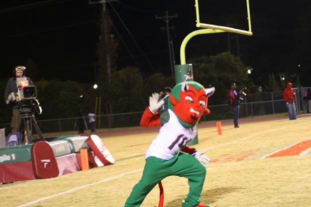 Mississippi Valley State Delta Devils mascot