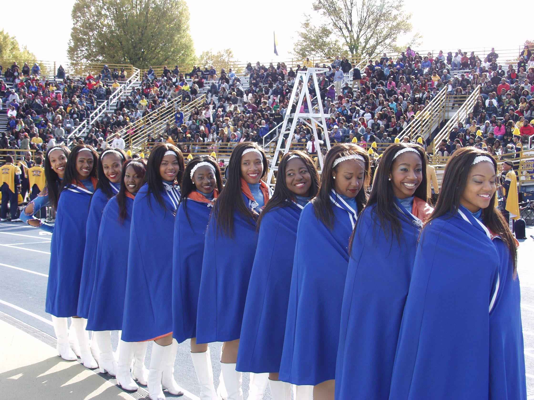 NC A&T U. Marching Band Dancers