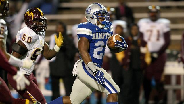 Hampton Pirates upset Bethune-Cookman Wildcats