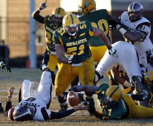Norfolk State Spartans fall short against the Eag...