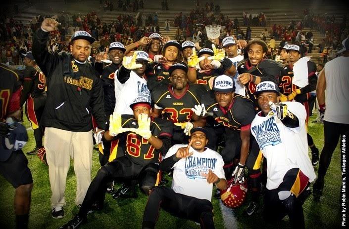 Tuskegee University Golden Tigers 2014 SIAC Champ...