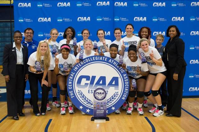 Chowan University 2014 CIAA Volleyball Champions