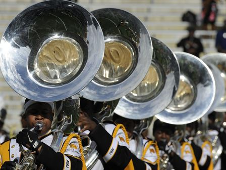 Alabama State tuba players