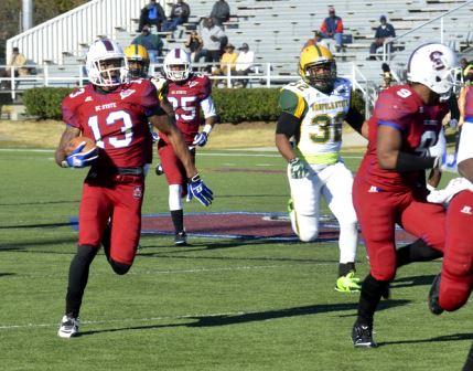 South Carolina State Bulldogs get victory on Seni...