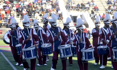 South Carolina State marching 101 durmline