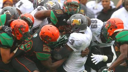 Bethune-Cookman Wildcats hold back Florida A&M Ra...