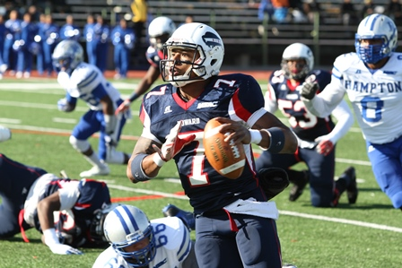 Howard Bison claims the Real HU over Hampton Pira...