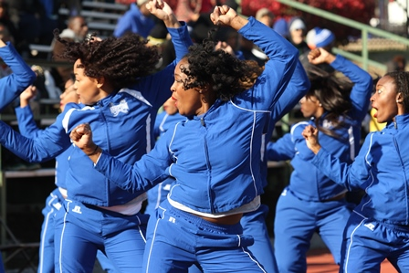 "Hampton University ""Blue Thunder"" Cheer..."