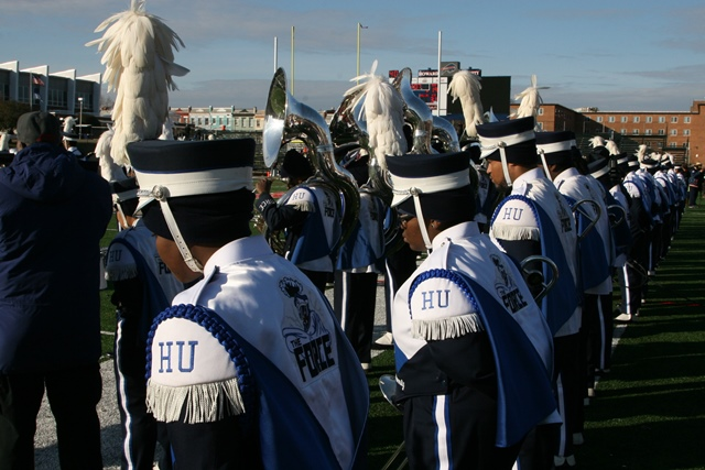 "Hampton University ""Marching Force"" get..."