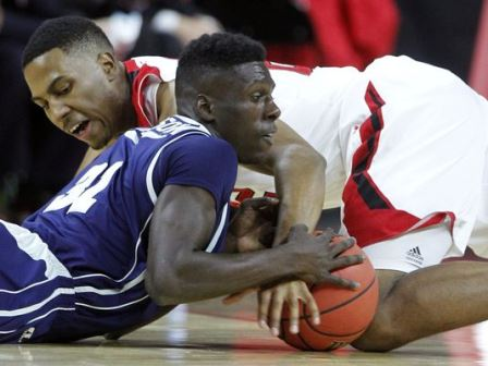 Jackson State and North Carolina State battle for...