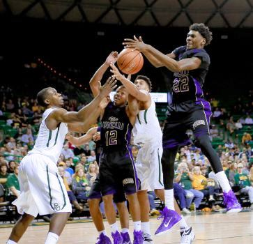 Prairie View A&M Panthers and Baylor Bears fight ...