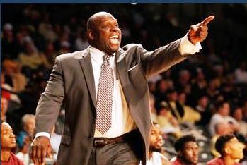 Alabama A&M Bulldogs head coach Willie Hayes coac...