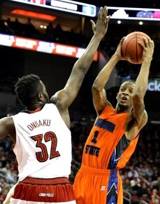 Savannah State gets blown away by Louisville Card...