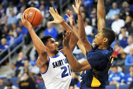 North Carolina A&T comes up short against Saint L...
