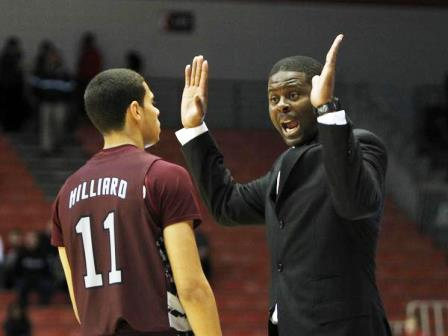 North Carolina Central head coach LeVelle Moton t...