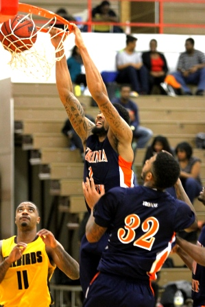 Virginia State Trojans victorious over UDC Firebi...