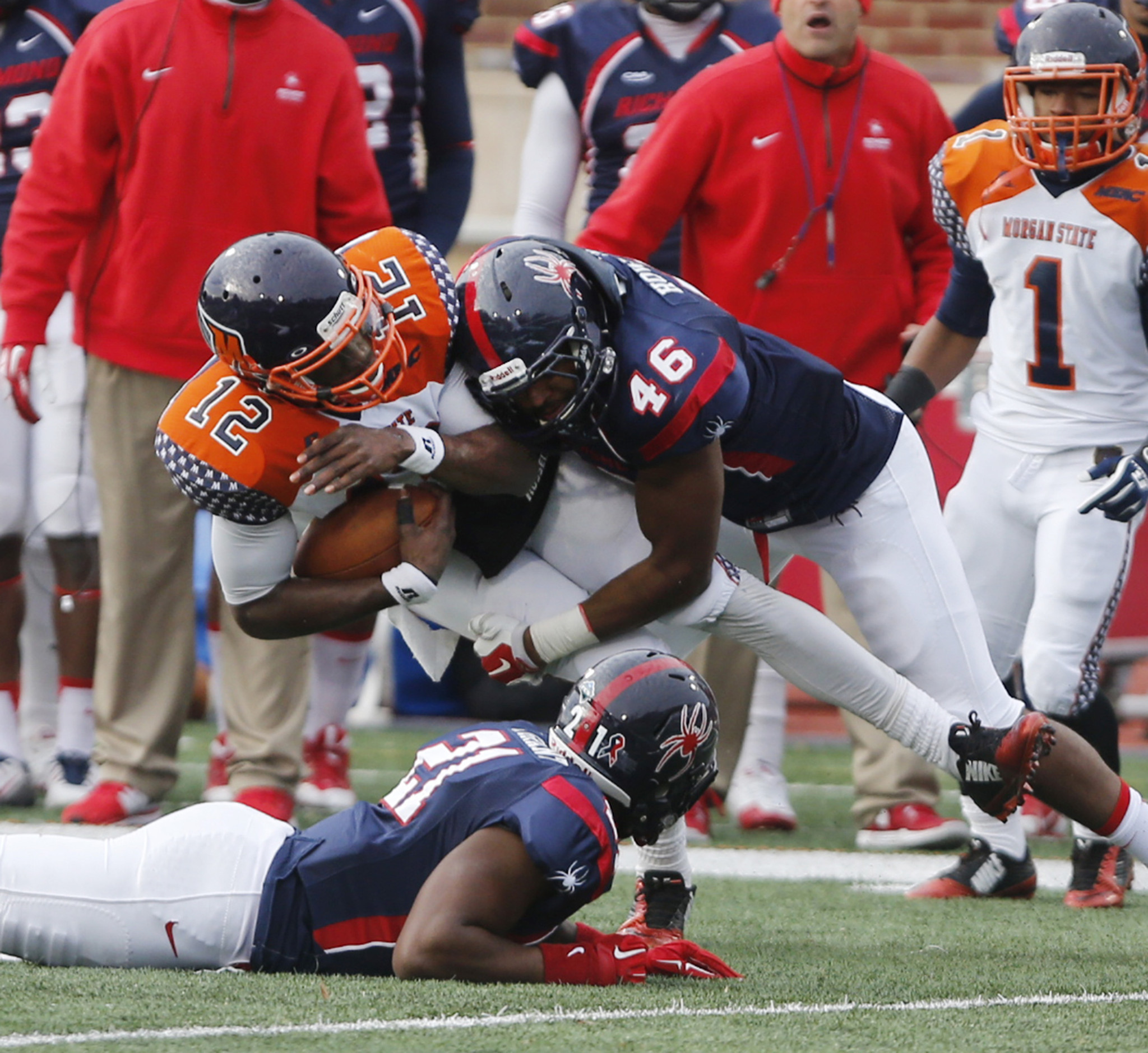 Morgan State Bears come up short against Richmond...