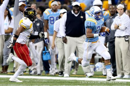 Southern scores against Grambling in 2014 Bayou C...