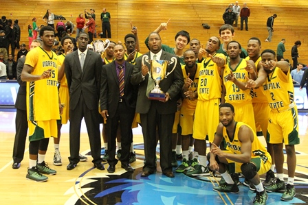 Norfolk State Spartans are the 2014 Barclay'...