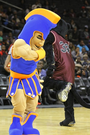 Virginia State Trojan and Virginia Union Panther ...