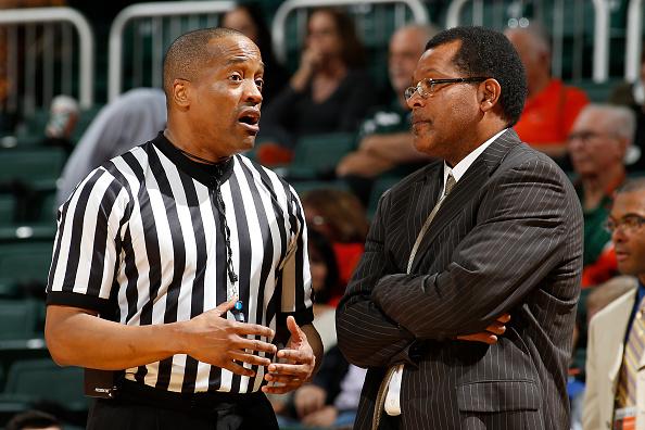 Savannah State head coach Horace Broadnax listens...
