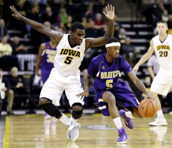 Alcorn State Braves are dominated by Iowa