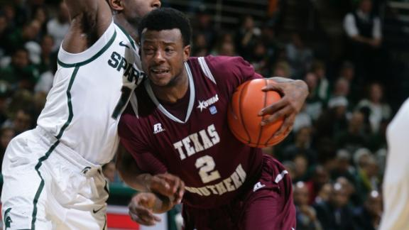 Texas Southern upsets Michigan State for 1st win ...